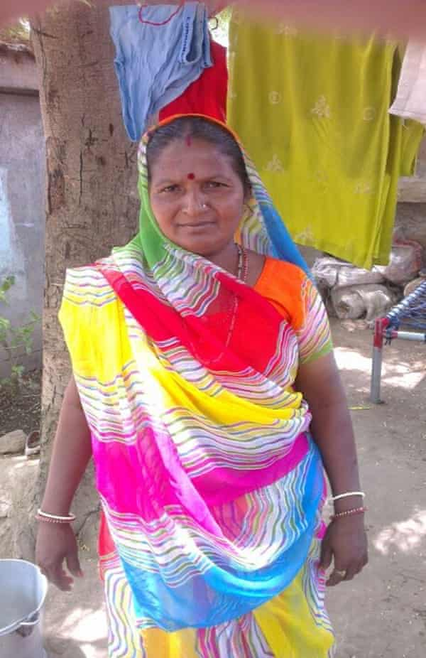 Salt farmer Bhavnaben Mangabhai