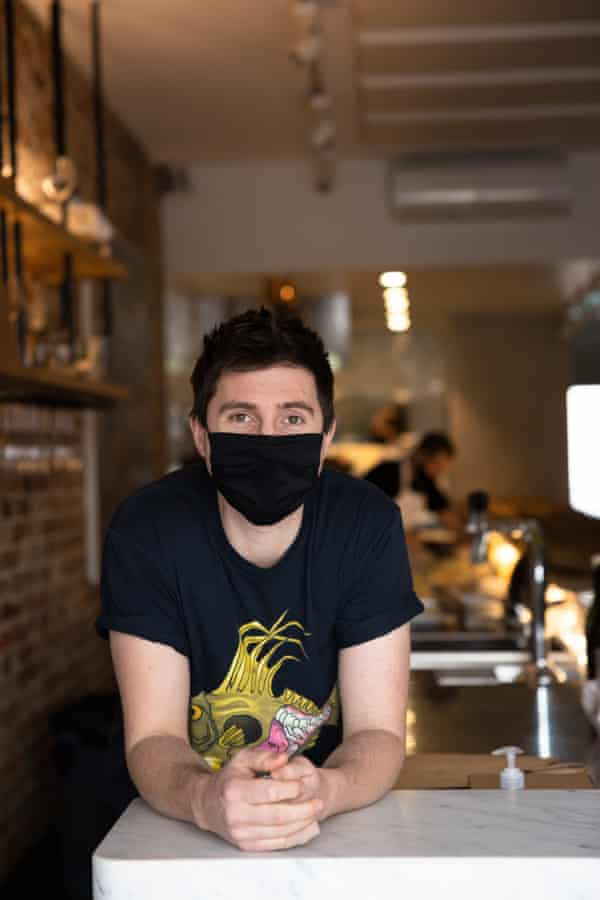 Josh Niland is the chef/owner of Saint Peter.