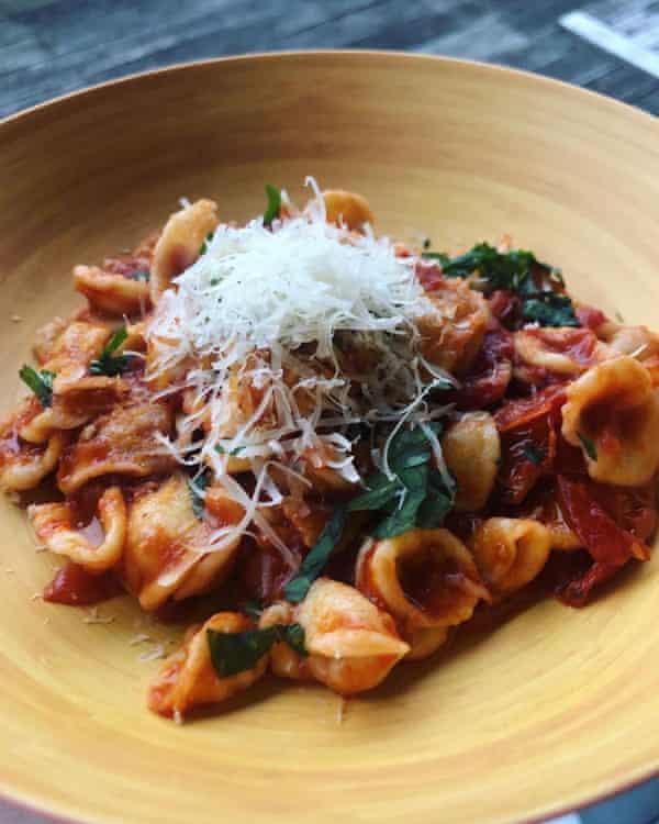 Joe Turner's homemade pasta