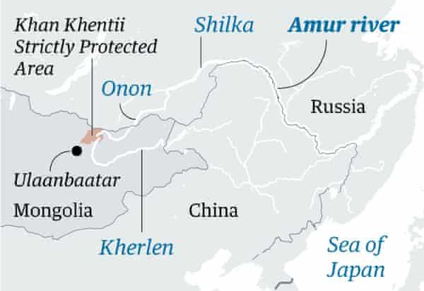 Amur map