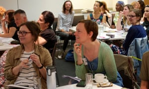 Guardian Education Centre Reading for pleasure conference 4 July 2019