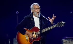 Yusuf/Cat Stevens on stage in London earlier this year.