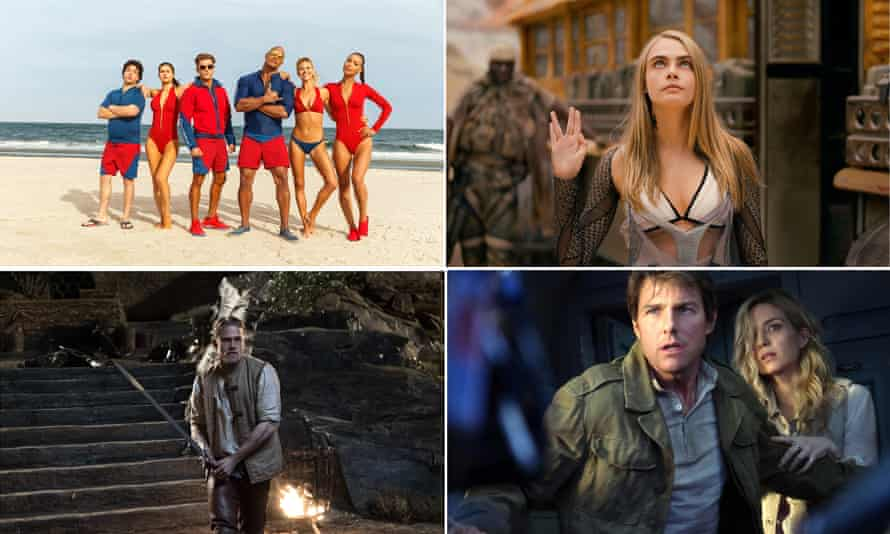 Cruel summer: Baywatch, Valerian and the City of a Thousand Planets, The Mummy and King Arthur.