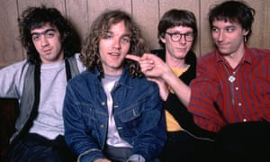 The band backstage in 1984