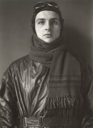 """Aviator, 1920Sander said, """"Nothing seemed to me more appropriate than to project an image of our time with absolute fidelity to nature by means of photography… Let me speak the truth in all honesty about our age and the people of our age."""""""