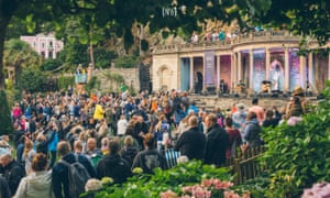 Best discovery... Showhawk Duo at Festival No 6, Portmeirion.