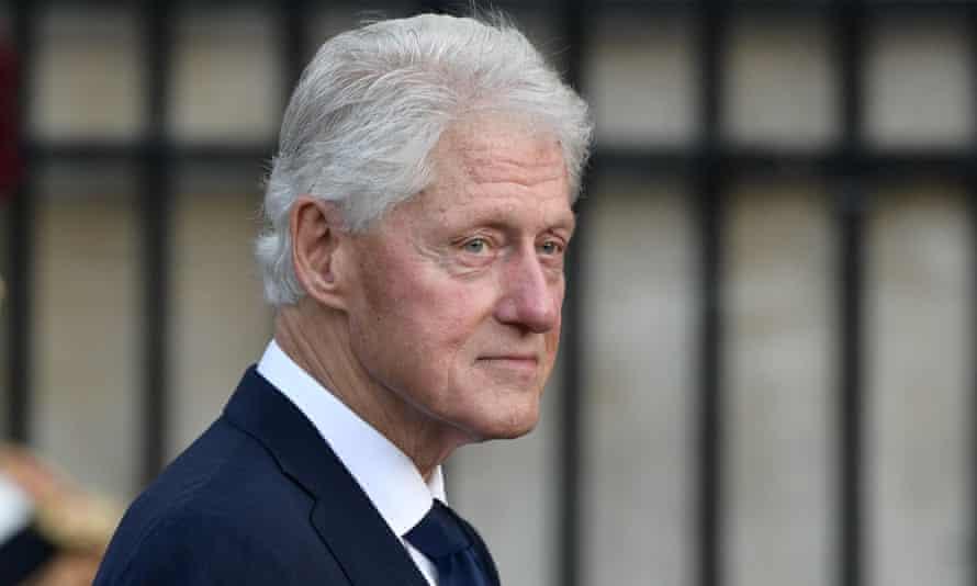 Bill Clinton in Paris on 30 September 2019.
