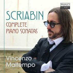 Scriabin: Complete Piano Sonatas album art work
