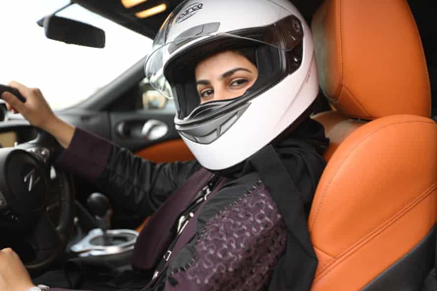 Race car driver Amjad Alamri.