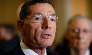 Senator John Barrasso suggested Democrats had built a design flaw into Obamacare to create momentum for a universal healthcare plan.