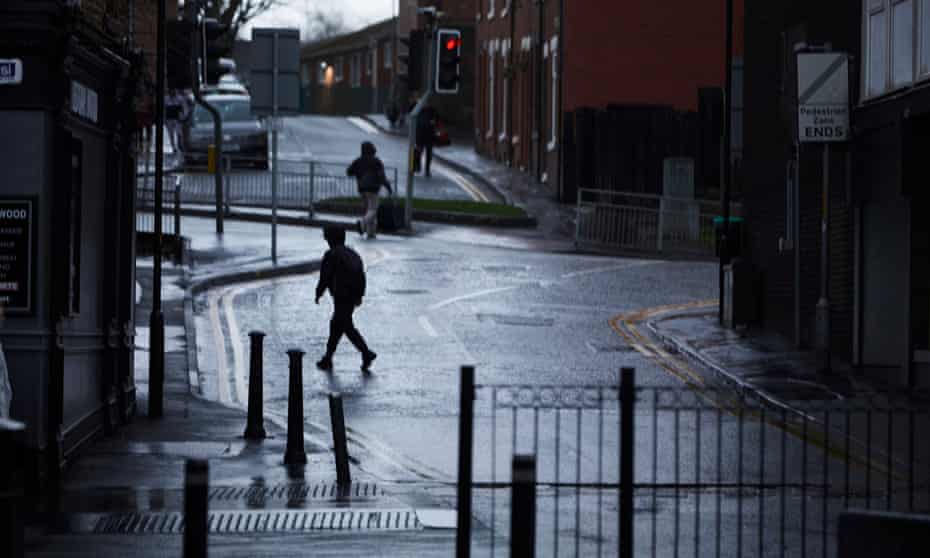 Middleton, in Greater Manchester, where life expectancy rates are low