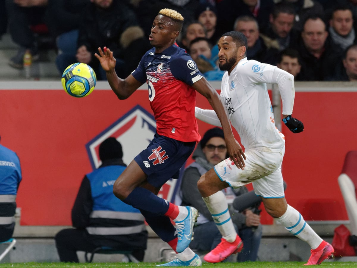 Napoli Agree Initial 60m Fee For Lille S Nigeria Striker Victor Osimhen Football The Guardian