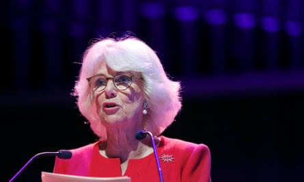 The Duchess of Cornwall speaks as she attends the opening session of the WOW (Women of the World) Festival at the South Bank Centre in London.