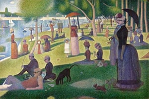 Sunday in the Park with George (after Georges Seurat)