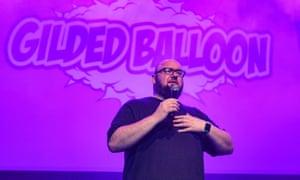 Scott Gibson at the Gilded Balloon