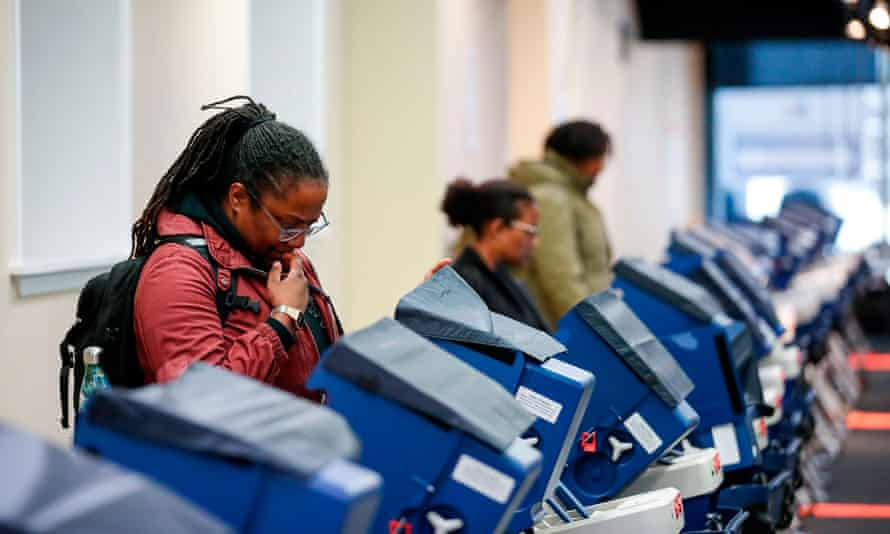 'Black voter turnout was 59.6% in 2016, 66.6% in 2012, and 65.2% in 2008. The voter turnout for black people in each election was higher than Latinos and Asians and higher than whites in 2012.'