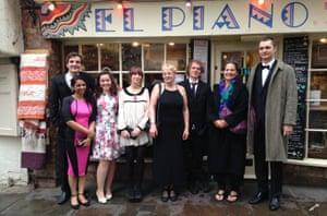 The team at El Piano in York