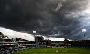 Storm clouds gather over Lord's in 2017
