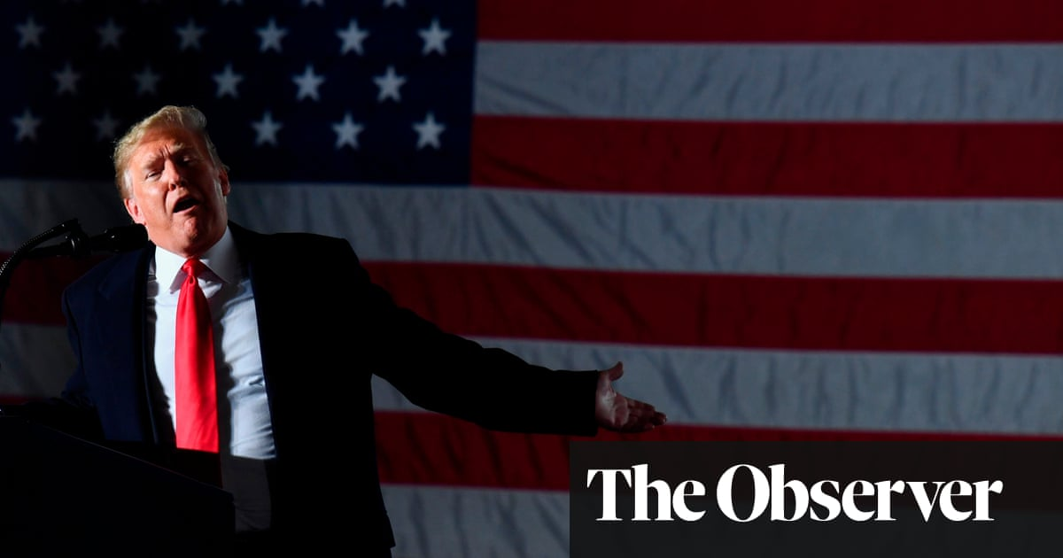 Edge of the knife': Trump drags divided states of America