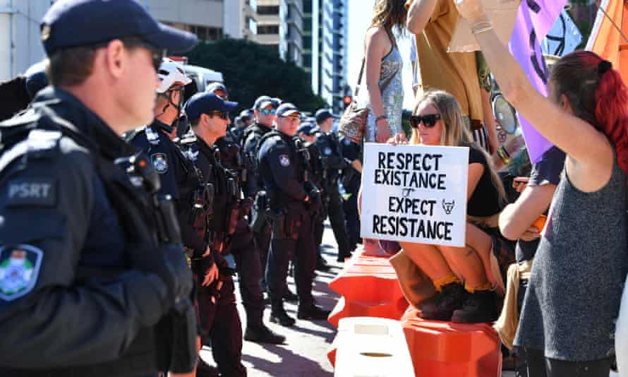Fuelling the anger is the way the state crackdown on environmental protesters compares to its treatment of corporations who break environmental law.