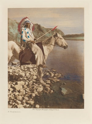 A Blackfoot tribe member