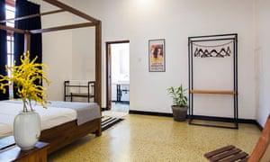 Bedroom at Black Cat
