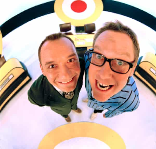 'I have never minded… playing second fiddle': Mortimer with Vic Reeves on Shooting Stars, January 2003