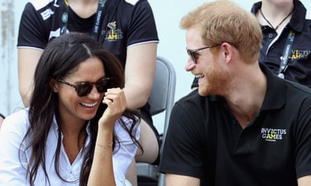 Prince Harry And Meghan Markle pictured at the Invictus Games in Toronto in September this year.