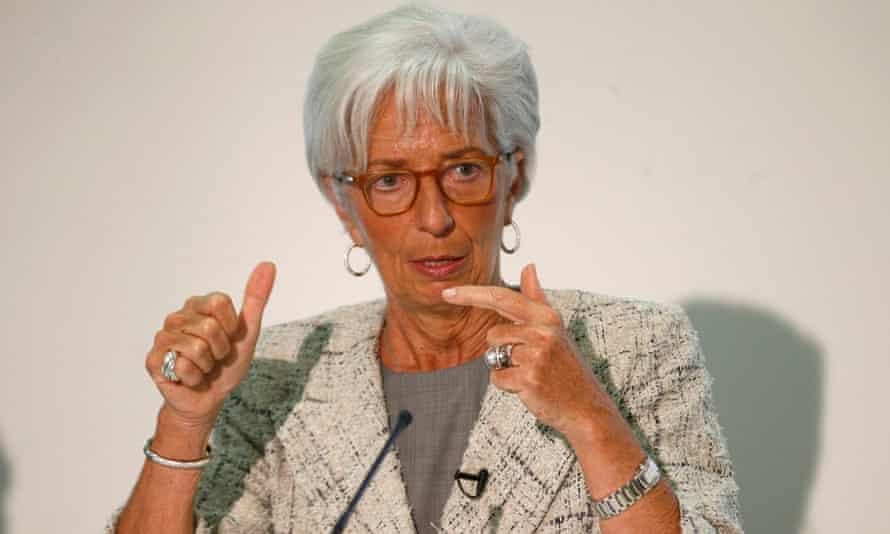 The IMF managing director, Christine Lagarde.