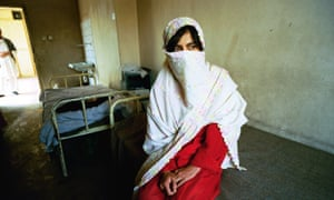 A patient at Kabul Mental Health Hospital. Women patients were not treated under the Taliban.