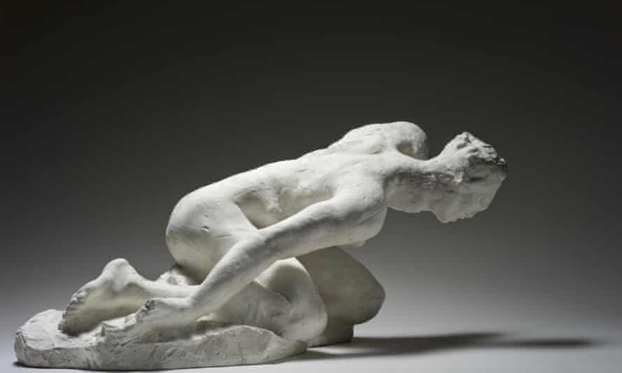 Rodin the modernist keeps coming up against Rodin the medievalist ... Auguste Rodin, The Tragic Muse, 1890.