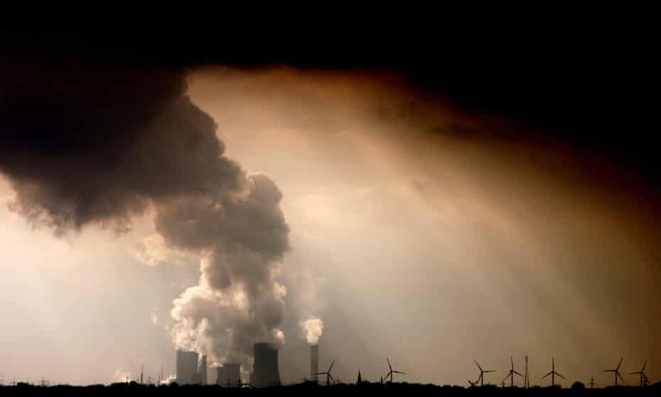 Billions of tonnes of carbon dioxide are sent into the atmosphere every year from coal, oil and gas burning.