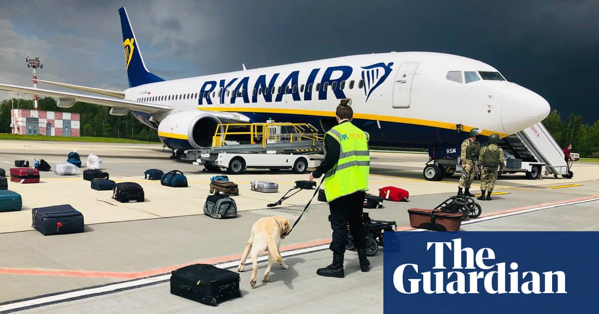Ryanair boss: airlines must fly over rogue states despite Belarus 'hijacking'