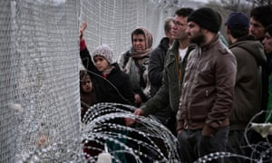 Thousands of people are stranded at makeshift camps at the Greek-Macedonian border near Idomeni after Austria and Balkan states began restricting entries.
