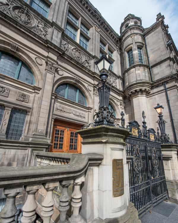 Edinburgh Central Library.
