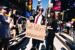 New York winners parade