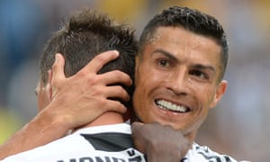 Cristiano Ronaldo will be at the vanguard of Juve's title tilt.