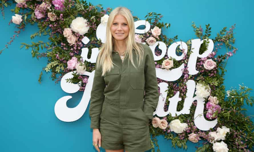 Occupies a Shatner-esque territory where no one is sure if she's joking ... Gwyneth Paltrow, pictured in 2019.