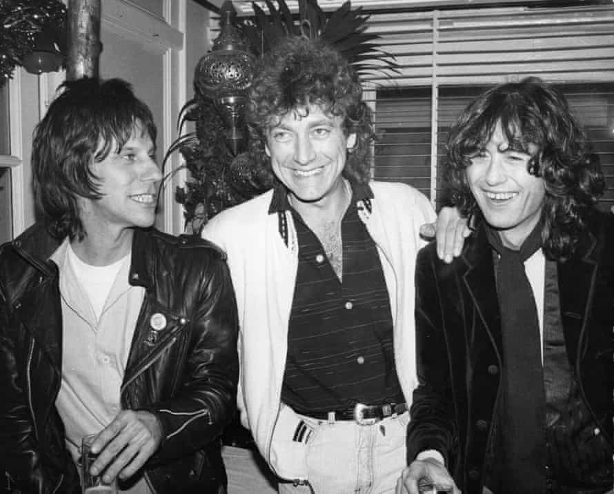 Jeff Beck, Robert Plant and Jimmy Page