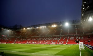 Manchester United want a safe-standing section in the north-east quadrant of Old Trafford.