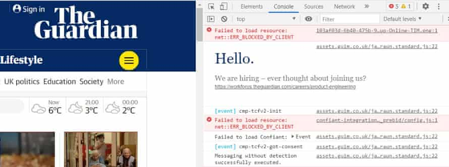 The Guardian developer tools