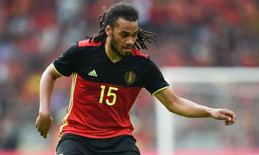 Jason Denayer displays his refined ball-control during a Euro 2016 warm-up game for Belgium against Norway on June 5.