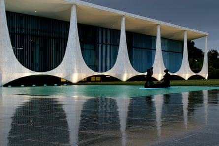 The Alvorada palace in Brasilia, the Brazilian presidential residence, upon which security bosses reportedly wanted to place a 10m antenna.