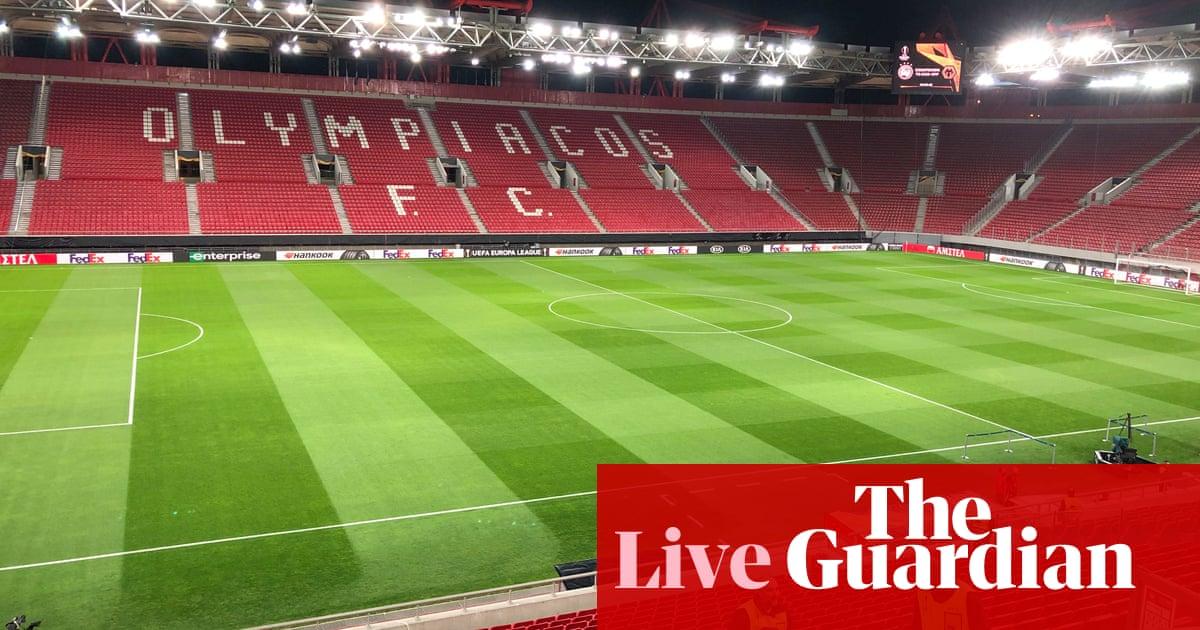 Arsenal v Benfica, Rangers v Antwerp: Europa League clockwatch – live!