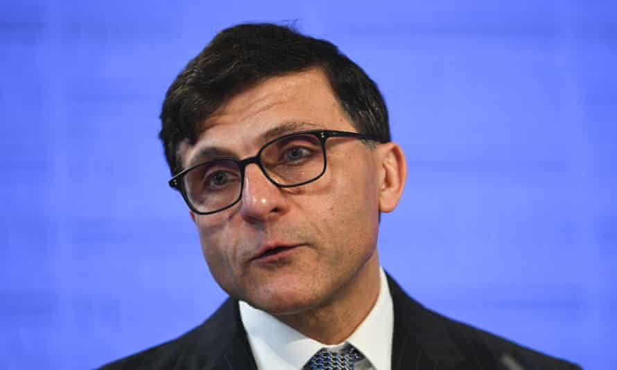 President of the Law Council of Australia, Arthur Moses, spoke about the religious discrimination bill at the National Press Club in Canberra on Wednesday and warned against a 'shifting sands' approach to protecting speech.