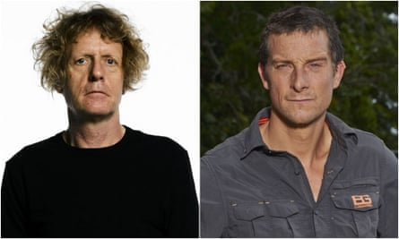 Grayson Perry and Bear Grylls: squaring up over masculinity.