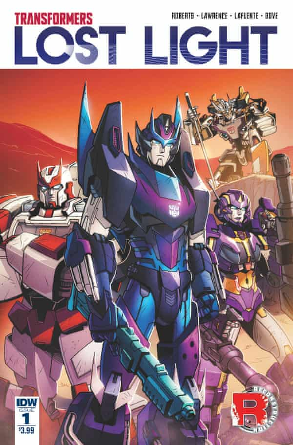 The cover of new comic.