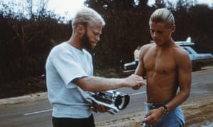 Bruce Brown and Mike Hynson during filming of The Endless Summer.