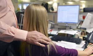 Almost a fifth of women surveyed have been harassed by their boss or someone else with authority.