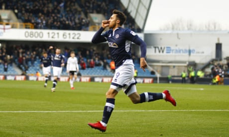 Millwall shock Sheffield United, Bristol City beat Middlesbrough to go third